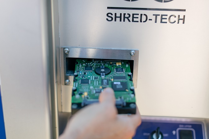 Computer Hard Drive Destruction in Charlotte, NC | Shred Ace
